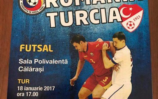 Romania – Turcia – Futsal / Sala Polivalenta Calarasi