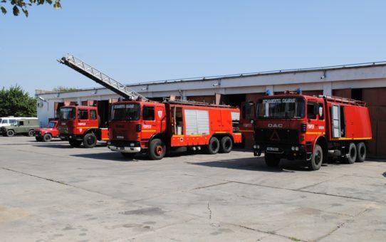 Pompierii calarasenii duc la bun sfarsit misiune dupa misiune