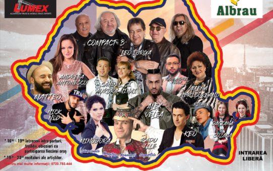 """Turneul Muzical Național """"România în sărbătoare"""", dedicat Centenarului, va ajunge la Călărași!"""